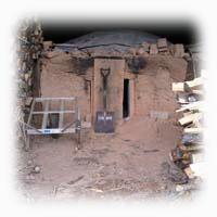 岩手県陸前高田市地域交流センター「炭の家」炭焼き釜再建